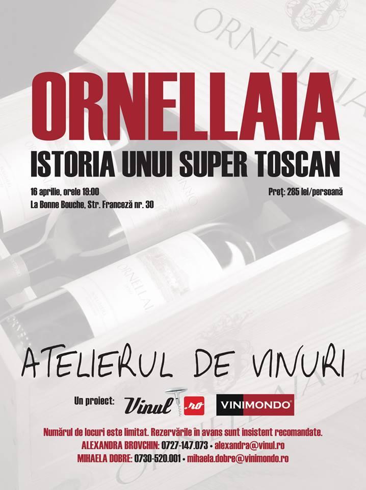 ATELIERUL DE VINURI - ORNELLAIA