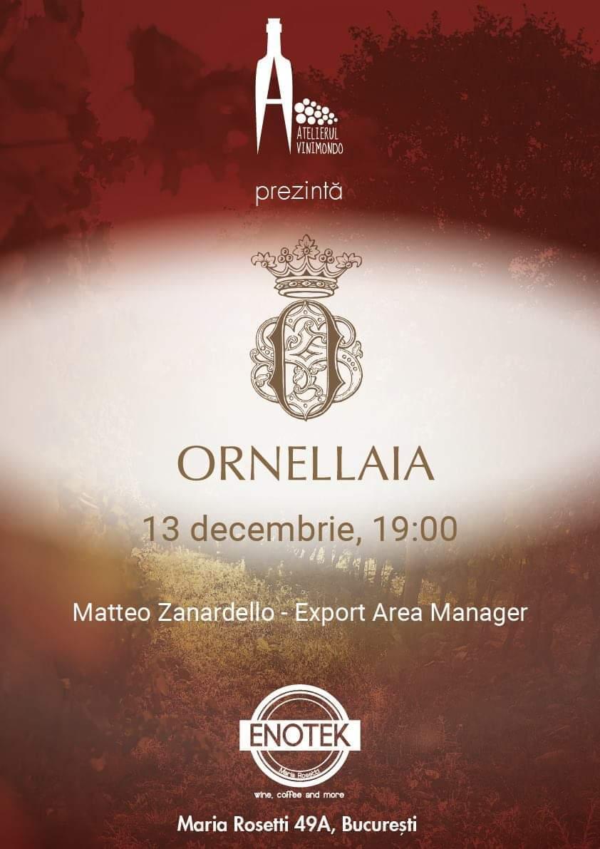 Atelierul Vinimondo - Ornellaia