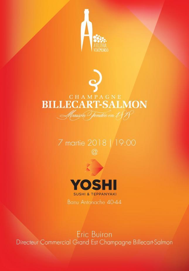 Atelierul Vinimondo Champagne Billecart - Salmon