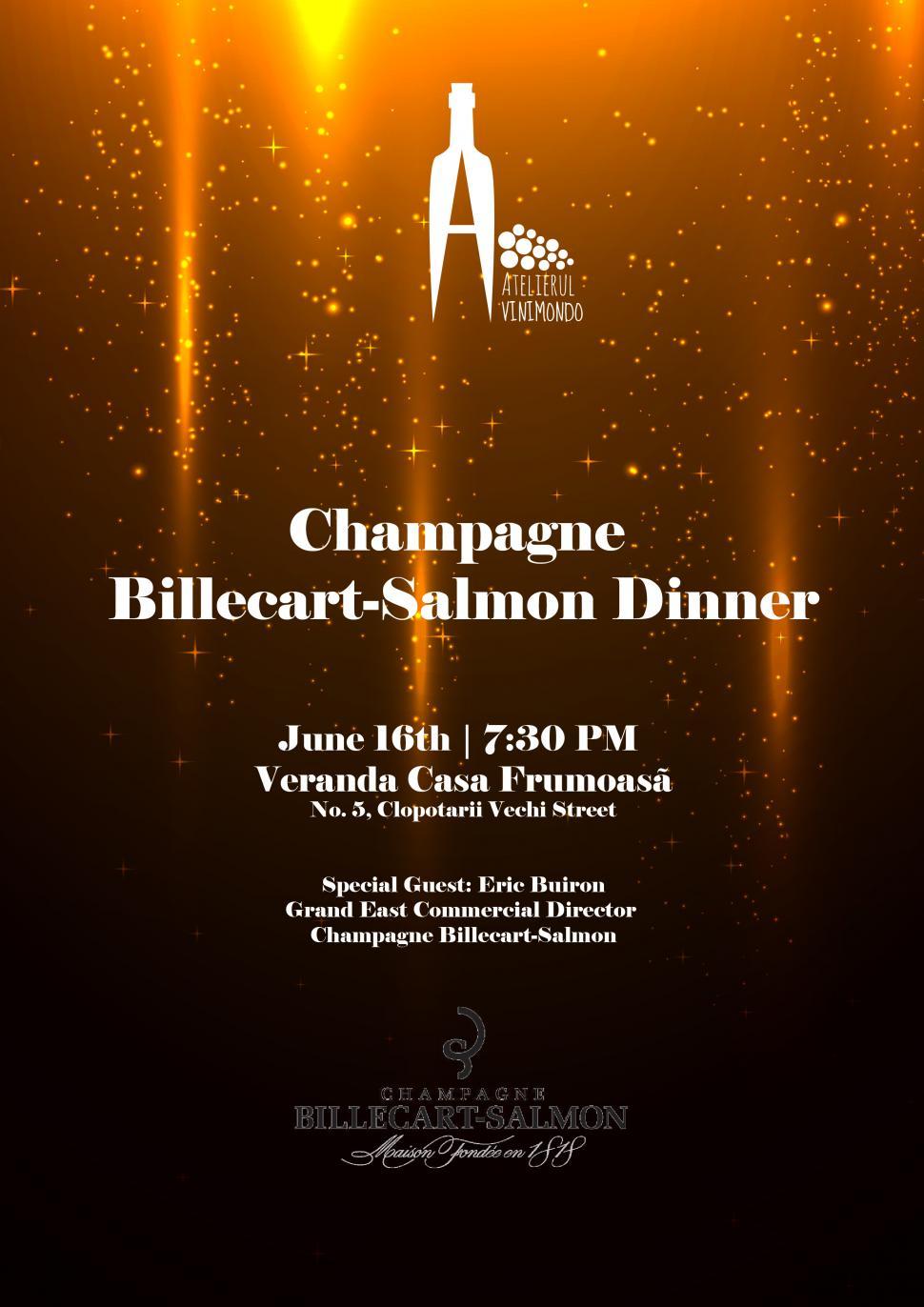 Champagne Billecart-Salmon Dinner