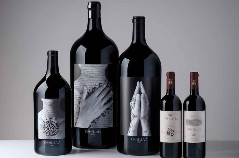 Noua etichetă Vendemmia d'Artista Ornellaia
